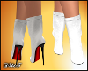 D- Fall White Boots