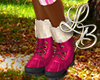 [LB] Pink Hiking Boots F