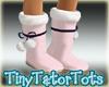 Kawaii Pink Fur Boots