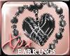.xpx. Heart Earrings