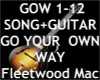 Go Your Own Way +Guitar~