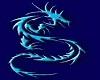 blue dragon Throne
