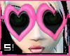 S! Pink Heartshades