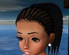 Kids Braided Twists Blk