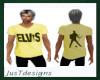 JT Elvis Tee Yellow
