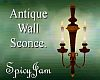 Antique Wall Sconce