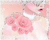 Shoulder Roses |Pink R