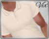 WV: Polo Shirt - Beige