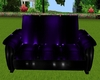 Black/Blue PVC Zen Couch