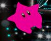 flying  pink star