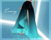 C- Gradient Skirt BLUE