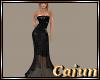 Ebony Lame Gown