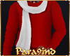 P9)Red Jumper and scarf