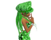 mickey's green hair hat