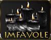 iF! Zebra latex candles