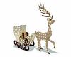 Christmas Deer Sleigh