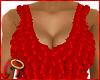 Petal Top Red