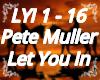 Pette Muller Let You In