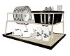 kitchen dishes rack