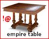 !@ Antique empire table