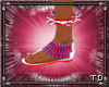 *T 4th July Anklet