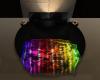 (H) Round Bed-Rainbow