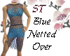 ST}Blue Netted Over