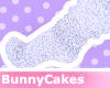 violet fluffy [socks]