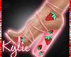 Strawberry Heels