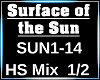 Surface of the sun 1/2