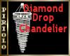 Diamond Drop Chandelier