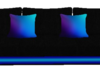 Neon Blue Couch