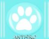 [Anthro] White PawPrints