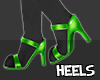 S  Paw Heels Lime