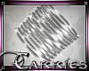 C Silver Bangles R