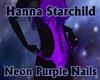 Neon Purple Tiny Hands