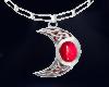 Celtic moon Ruby