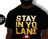 F' Stay In Yo Lane Gold