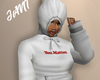 you matter hoodie white