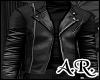 Leather, Black, Jacket