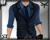 [ST] Formal Shirt+Vest 1