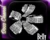Silver Petals Belly