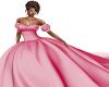 rose ballroom gown