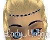 Silver n Onyx Headdress
