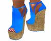 Blue Summer Wedge