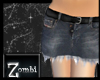 [Z]Ripped Denim Mini D
