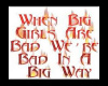when big girls are bad