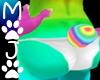 (MOJO) Rainbow Mini Tail