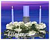 Palace Blue Unity Candle