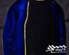 Leather Jacket Dark Blue